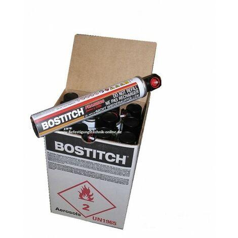"""main image of """"12x Bostitch 18 Bar FC80ML Haute pression Gas cartouche de gaz 20% plus efficace 165mm""""-""""EN10030"""""""