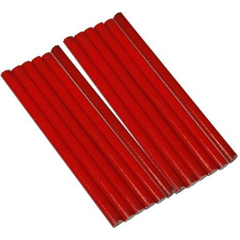 12X Crayon de menuisier menuiserie bricolage maçonnerie bâtiment travaux chantier