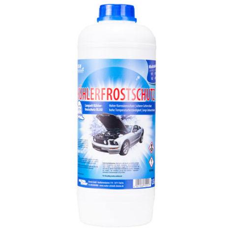 12x RobbyRob Kühlerfrostschutz blau 1,5 Liter