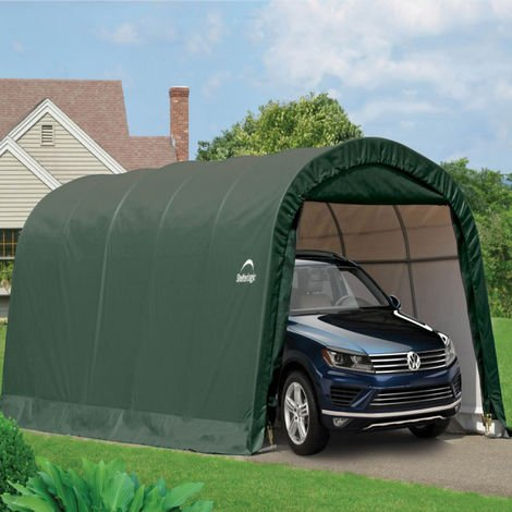 12x20 Round Top Auto Shelter