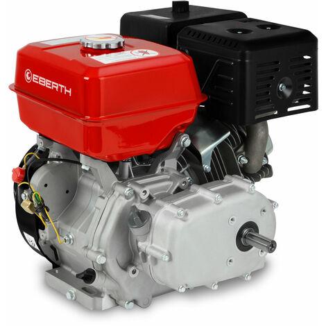 13 CV Motor a gasolina con Embrague de baño de aceite (22 mm Eje, Seguridad por falta de aceite, 4 Tiempos, refrigerado por aire, Arranque rectractil)