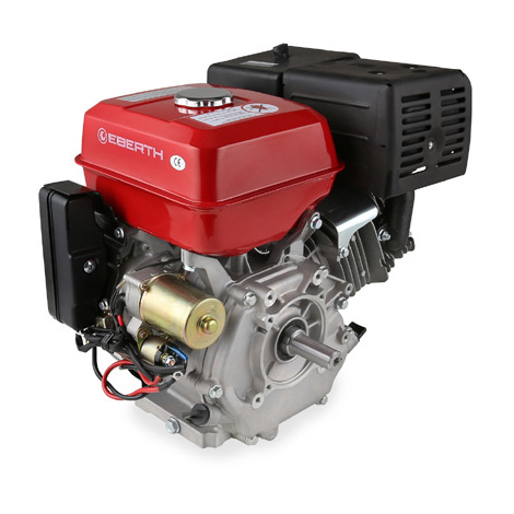 13 HP 9.56 kW Petrol Engine (E-Start, 25 mm Shaft, Low Oil Protection, Air-cooled Singel Cylinder 4-stroke Engine, Recoil Start, Alternator, Battery) Motor