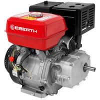 13 HP Petrol Engine with Oil Bath Clutch (22 mm Shaft, Low Oil Protection, Air-cooled Singel Cylinder 4-stroke Engine, Recoil Start) Motor