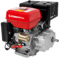 13 HP Petrol Engine with Oil Bath Clutch (E-Start, 22 mm Shaft, Low Oil Protection, Air-cooled Singel Cylinder 4-stroke Engine, Recoil Start) Motor
