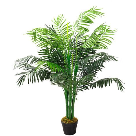 130CM Artificial Palm Tree with Pot Indoor Fake Flora Plant
