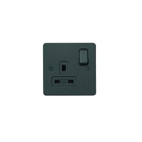 13A Edge Dual Earth DP Switchsocket Outlets