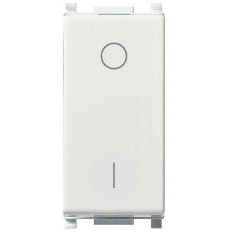14015 - interruttore bipolare 2p 16ax bianco plana 14015 apparecchi tasto vimar