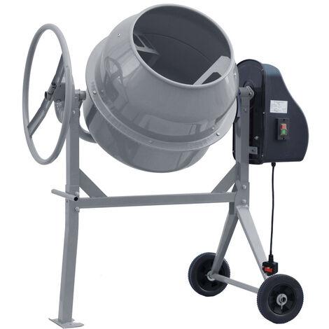 140L Drum Mixing Electric Concrete Cement Mixer