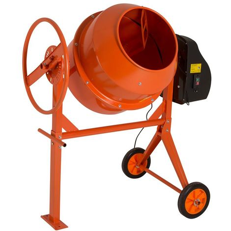 140L Portable Electric Cement Mixer