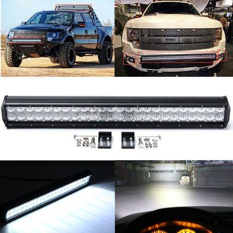 144W 14400LM Barre lampe led travaile voiture 23 PoucesSPOT