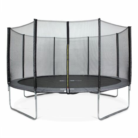 14ft Trampoline with Safety Net - 3 Colours - PRO Quality EU Standards