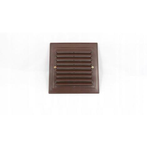 14x14 oblique ventilation grille brown New
