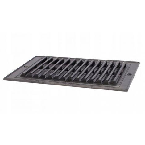 14x21 oblique black ventilation grille New