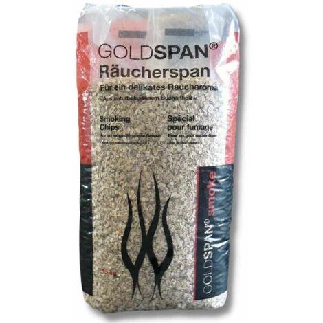 15 kg Räucherspäne Goldspan B 20/160 3,0-10,0 mm