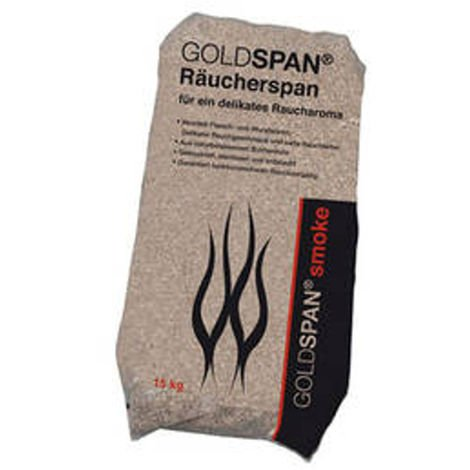 15 kg Räucherspäne Goldspan B 5/10 0,4-1,0 mm