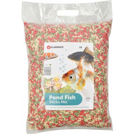 15 litres, Nourriture poisson d'étang, STICKS - 1,2 KG