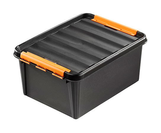 Image of 15 Ltr Tool Storage Box with Divider Bins - A PLACE FOR EVERYTHING