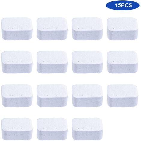 15 Pcs Cuvette De Toilette Nettoyant Nettoyage De Salle De Bains Comprimes Effervescents Nettoyant Pour Toilettes Nettoyage
