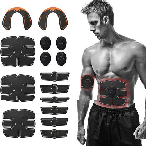 15 piezas, estimulador muscular EMS, conjunto de entrenamiento de entrenamiento de cadera