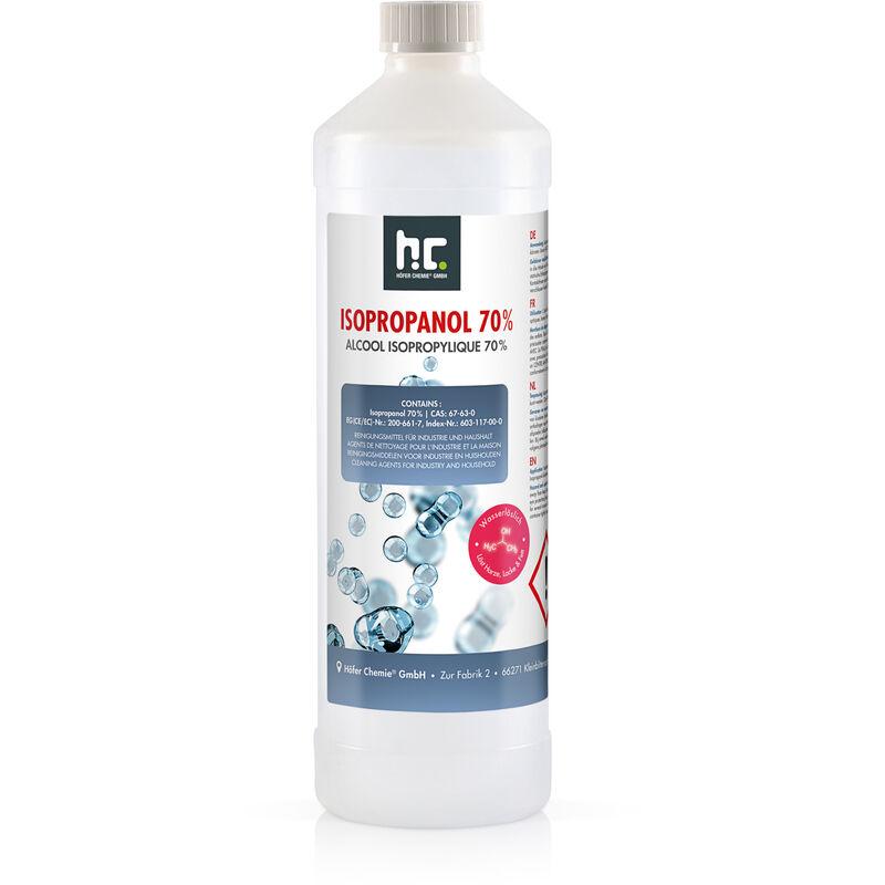 Höfer Chemie - 6 x 1 Litre alcool isopropylique 70%
