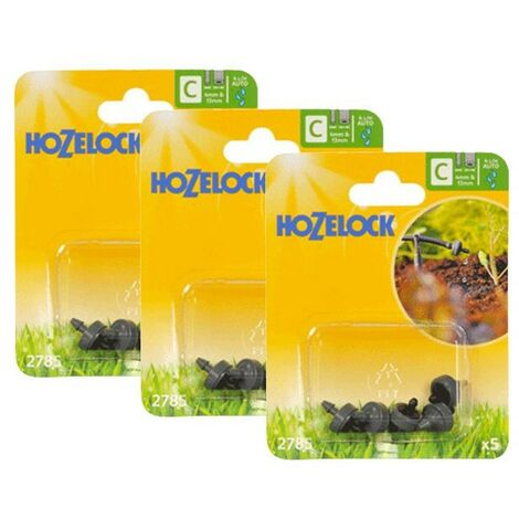 15 x Hozelock 2785 4 LPH Micro Irrigation Automatic Pressure Water Dripping