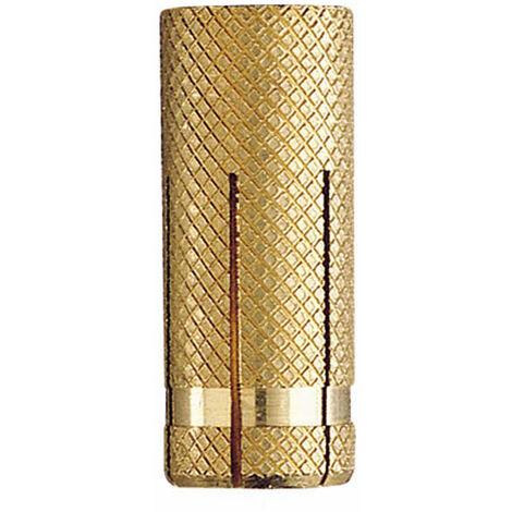 150 douilles, chevilles métalliques laiton charges fixations légères M10 x 33 mm (D. 12 mm) - TALAM10 - Index