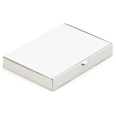 150 Warensendungen 240x160x45 MaxibriefKarton Post Maxibrief Karton in Weiss
