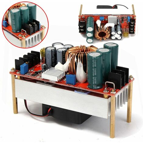 1500W 30A DC Boost Converter Step-up Power Supply Module In10 ~ 60V Out 12 ~ 90V