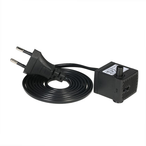 150L/H 2W Submersible Water Pump with One Nozzle 4.9ft(1.5m) Power Cord AC220-240V