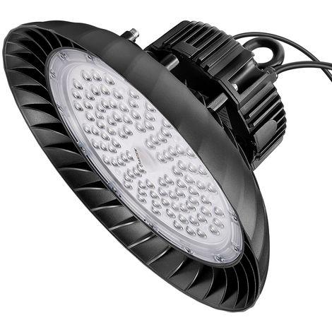 150W Campana LED Industrial 3-en-1 Regulable, 5000K UFO LED Alta Bah
