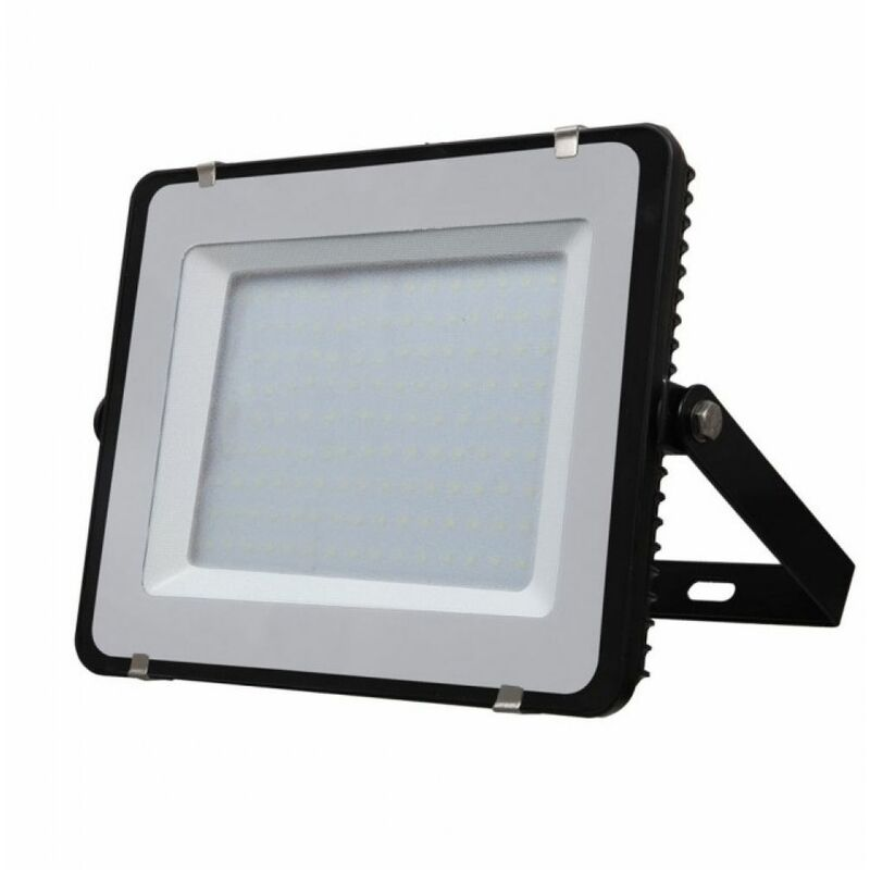 Faro LED SMD Chip Samsung 150W Colore Nero 4000K IP65 - V-tac