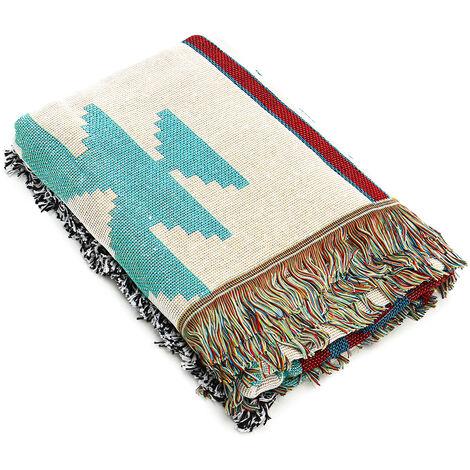 "main image of ""150X120CM Geométrico Tribal Étnico Azteca Manta Throw Mohoo Sofá Mat"""