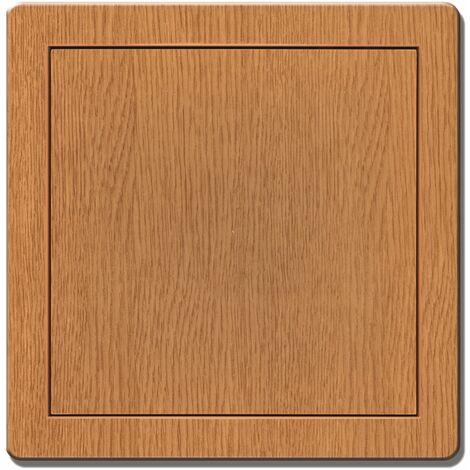 150x150mm Durable ABS Plastic Access Inspection Door Panel Oak Color
