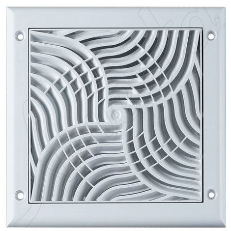 150x150mm Wall Ventilation Grille Cover Anti Insects Net Square Shaped
