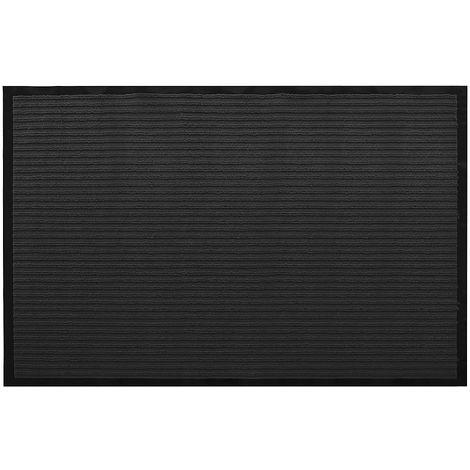 150x90 Tapis de protection anti-poussière Noir