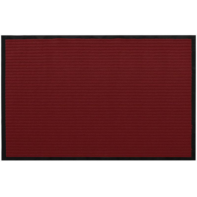 150x90cm Stuoia di sporcizia Zerbino Stuoia Rosso Corridore