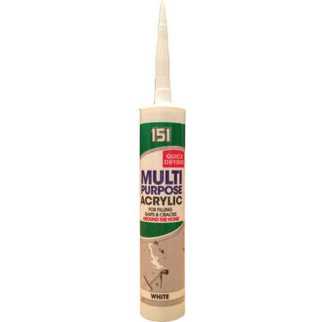 151 310ml Acrylic Sealant White