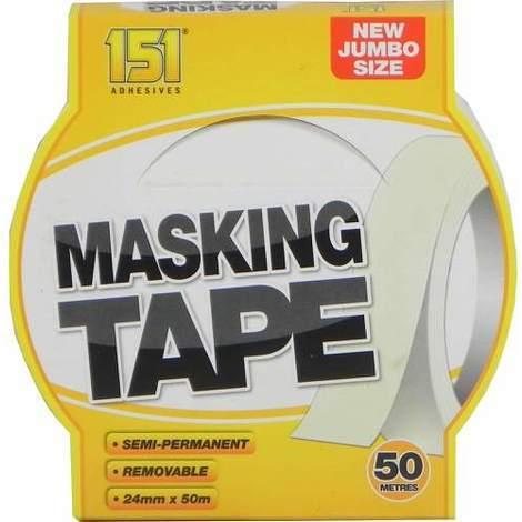 151 Masking Tape 24mm x 50m