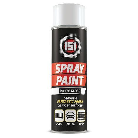 151 Spray Paint Gloss White 250ml