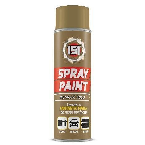 151 Spray Paint Metallic Gold