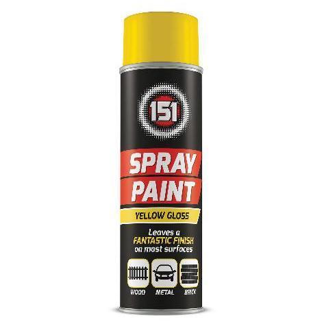 151 Spray Paint Yellow 250ml