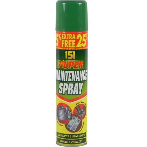 151 Super Maintenance Spray 250ml