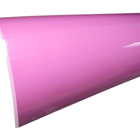 152/50cm film adhésif vinyle rose brillant thermoformable revêtement extérieur intérieur