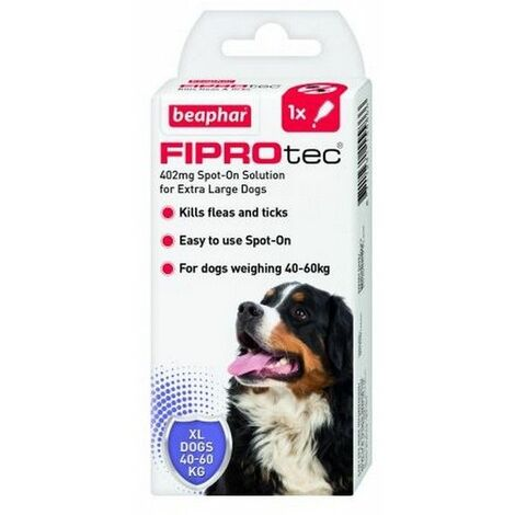 15586 - FIPROtec Spot On Extra Large Dog - 1 pipette