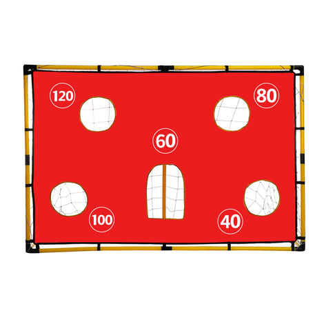 156x107x70cm Kid Soccer Goal Play Set Backyard In/Outdoor Play Sport With Ball