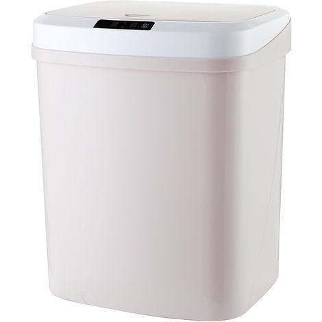 15L / 4Gal Ber¨¹hrungslose Abfalleimer automatische Garbage Can Infrarot-Bewegungsmelder mit Deckel f¨¹r K¨¹che Badezimmer B¨¹ro Schlafzimmer