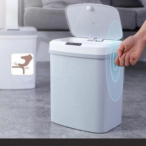 15L 4Gal Ber¨¹hrungslose Abfalleimer automatische Garbage Can Infrarot Bewegungsmelder mit Deckel f¨¹r K¨¹che Badezimmer B¨¹ro Schlafzimmer