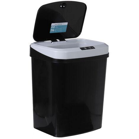 15L Automatic Sensor Smart Black Bin