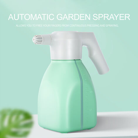 1.5L gardening electric watering can, handheld household flower watering device, rechargeable sprayer