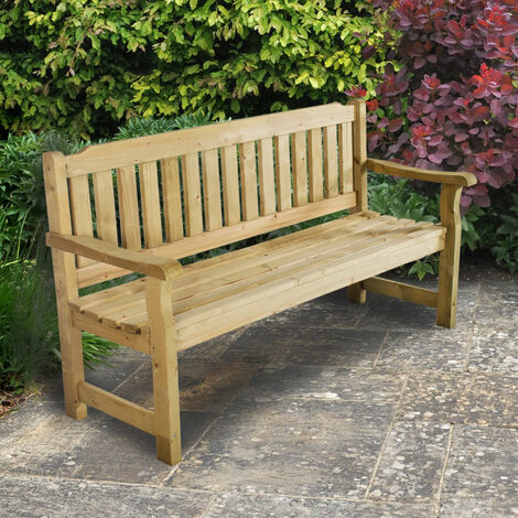 1.5m (5'x2') Forest Delemere Bench